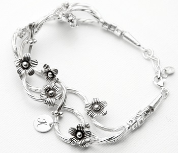 Forget Me Not Personalised Bracelet at Country Charm
