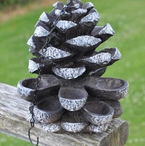 Pine Cone Bird Feeder at Country Charm
