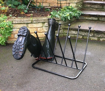 Poppy Forge 5 Pair Boot Stand at Country Charm