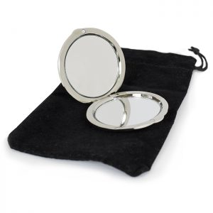 Worlds Best Teacher Compact Mirror - Teachers Gifts