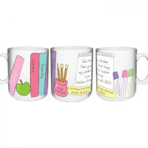 Thank You Gifts for Teachers - Female Teacher Personalised Mug