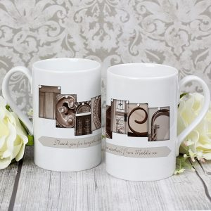 Personalised Gift For a Teacher - Slim Affection Art Mug