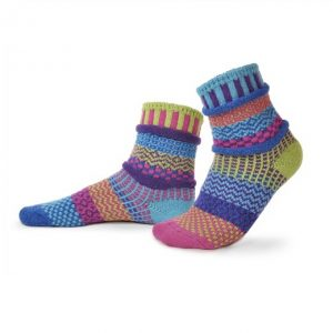 Solmate Socks for Adults - Bluebell