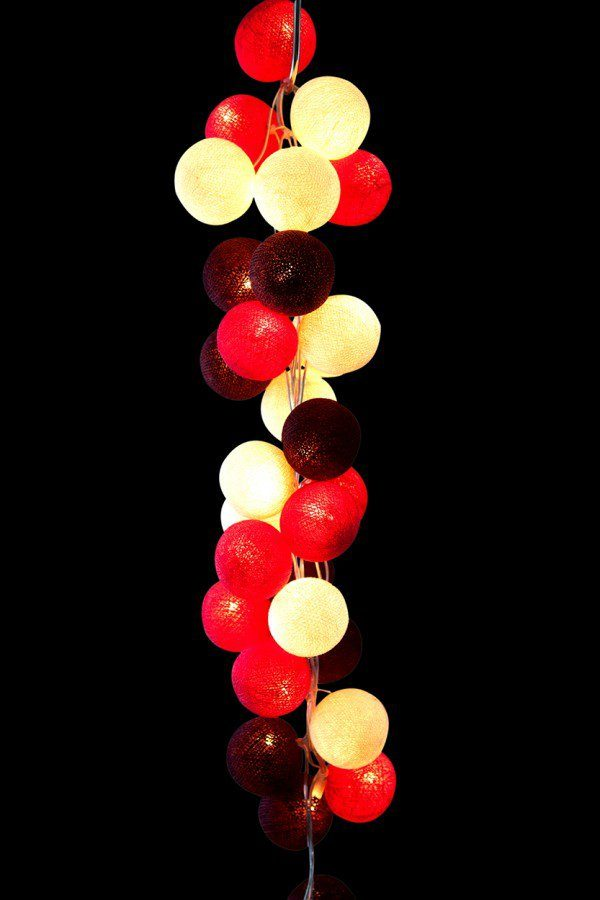 Cable and Cotton Cherry Pop Lights