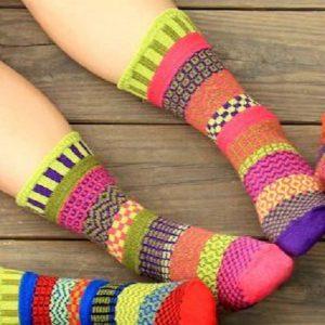 Aurora Solmate Socks Lifestyle