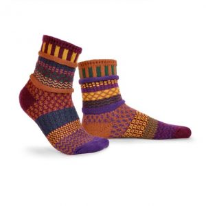 Fall Foliage Solmate Socks for Adults