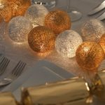 Gold and Silver Festive Table