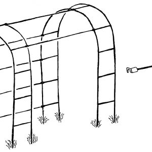 Garden Tunnel Pack for Oregon Garden Arches