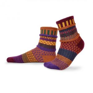 Solmate Socks for Adults - Fall Foliage