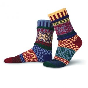 Solmate Socks for Adults - Winterberry