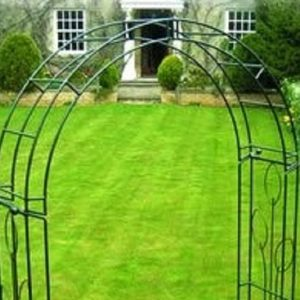 Decorative Flower Arch - Traditional Garden Arch