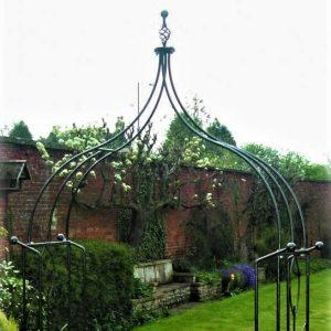 Poppy Forge Flower Ogee Garden Archway