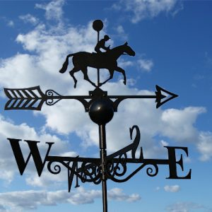 Running Horse Weathervane - First Past the Post