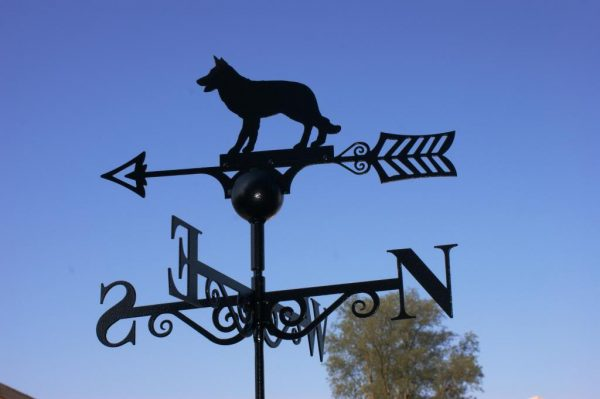 Alsatian Weathervane by Poppy Forge