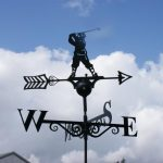 Poppy Forge Golfer Weathervane