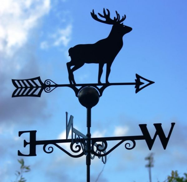 Deer Weathervane Hand Made by Poppy Forge