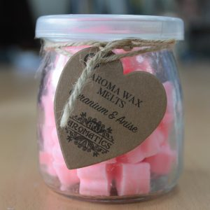 Essential Oils Wax Melts - Geranium and Anise