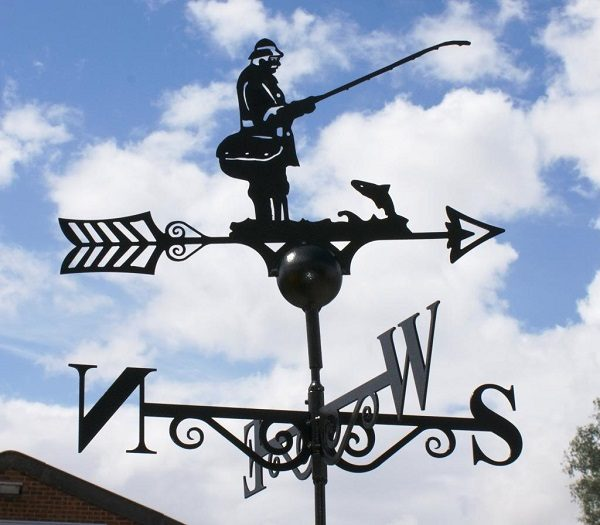 Fisherman Weathervane by Poppy Forge