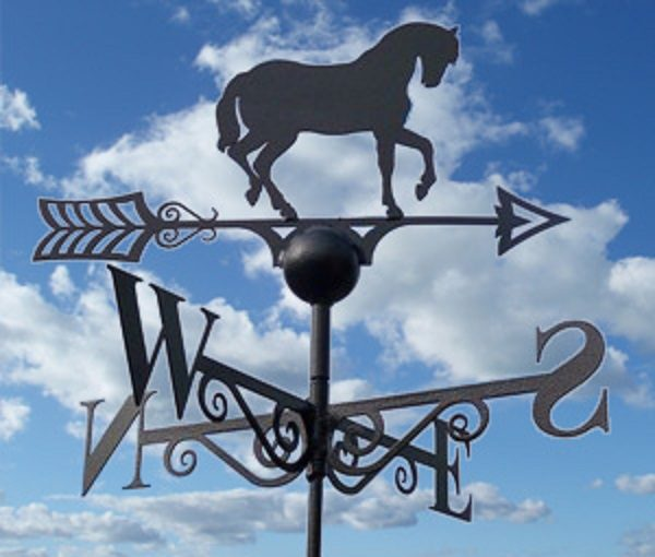 Horse Weathervane Hand Made by Poppy Forge