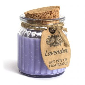 Lavender Soy Pot of Fragrance - Scented Candle