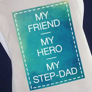 My Hero My StepDad Chefs Apron