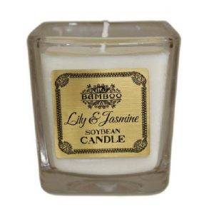 Perfumed Candles - Lily and Jasmine Soybean Candle