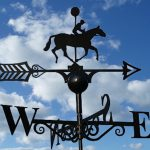 First Past the Post Weathervane by Poppy Forge