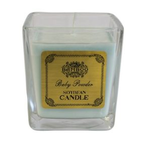 Unique Scented Candles - Baby Powder Soybean Candle