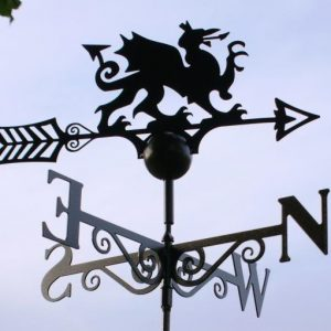 Dragon Weathervane - Welsh Dragon Poppy Forge Weathervane