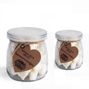 Two Jars of Aroma Wax Melts - Peppermint & Eucalytus
