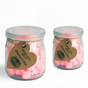 Essential Oil Fragrant Melts - Geranium and Anise Soy Wax