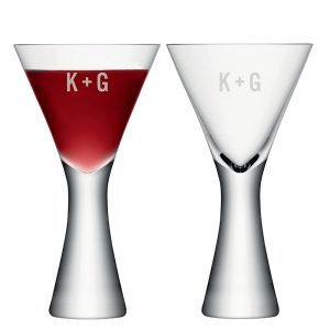 Personalized Wine Glasses - Distinctive Monogrammed LSA Wine Glasses