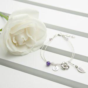 Bracelets for Women - Silver & Amethyst