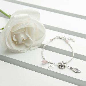 Silver Friendship Bracelet - Beautifully Personalised Bracelets