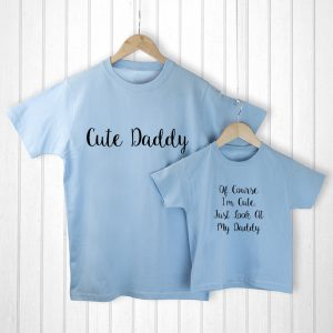 Birthday Ideas for Dad - Cute and Adorable Daddy and Me T-Shirts