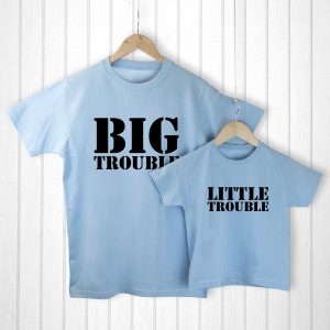 Gifts for Dad from Daughter- Adorable T-Shirt Set & Personalised Bag