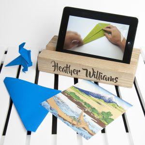Personalised Tablet Holder