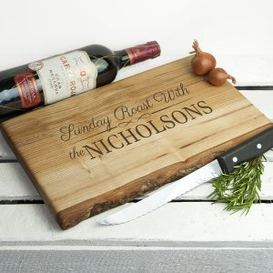 Engraved Chopping Board - Personalised Sunday Roast Board