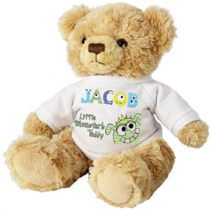 Little Monster Personalised Teddy Bear