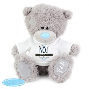 Me to You Teddy Bears with a Personalised No.1 T-Shirt - Lovely Gift