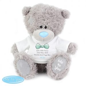 Gifts for Page Boys - Personalised Me to You Bear