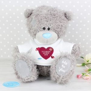 Me to You Teddy with Personalised Heart T-Shirt