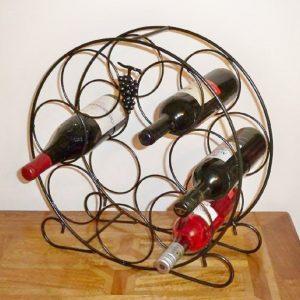 Poppy Forge Wine Rack 7 Bottles