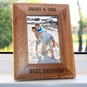 Personalised Daddy Photo Frame - Daddy is My Best Friend Photo Frame
