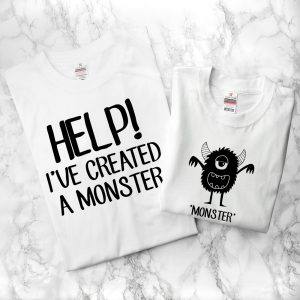 Little Monster Dad & Me T-Shirts