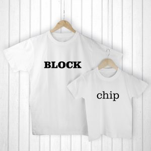 Father Child Gifts - Personalised T-Shirts