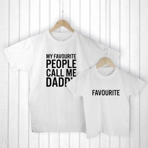 Childrens Gifts for Dads - Heart-warming T-Shirts to Wear Together