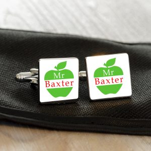 Teacher Cufflinks Thank You Gift
