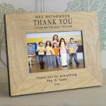 Presents For Teachers – Quality Wooden Personalised Photo Frame