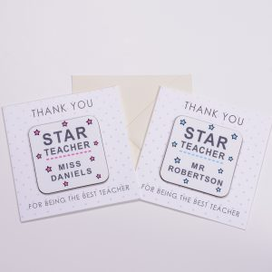 Teachers Thank You Card with Gift